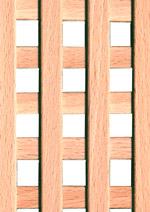 Holzmuster: Buche Ziergitter