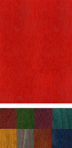 Colored veneer