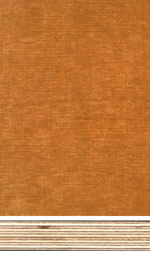 Birch plywood, brown phenolic film finish