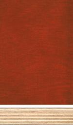 Birch plywood, red phenolic film finish