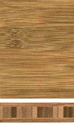 Bamboo-rod panel