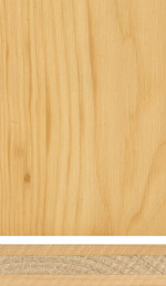 Swiss Pine triple-layer panel