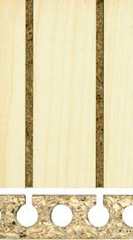Holzmuster: Akustikplatte