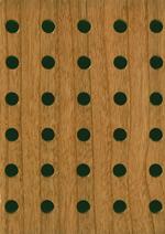Acoustic panel, MDF veneered