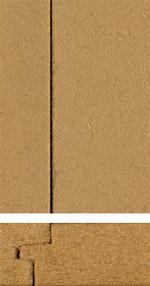 Holzmuster: Diffusionsoffene Faserdämmplatte