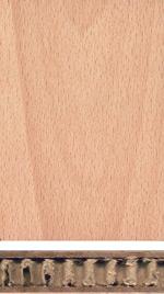 Holzmuster: Leichtbauplatte
