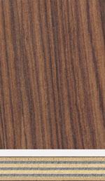 Holzmuster: Buche Sperrholz mit elektrisch leitenden Zwischenlagen