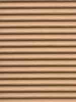 Corrugated pressed wood-pulp board