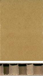 Paper honeycomb core board
